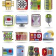 Computer  performance and equipment icons - 