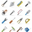 Building and Construction Tools icons - Stock Vector