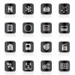 Phone  Performance, Internet and Office Icons — Grafika wektorowa