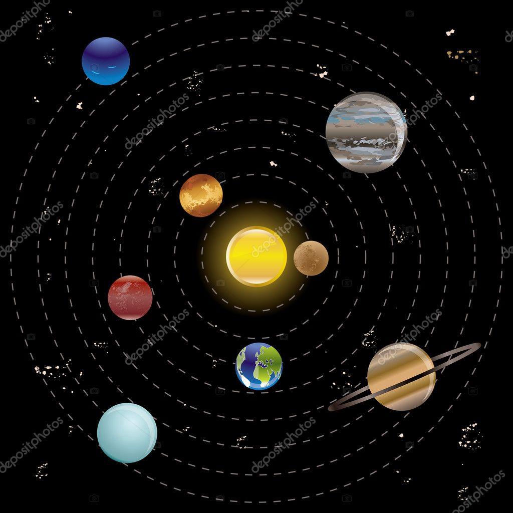 solar system three js - photo #36