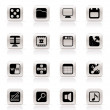 Phone  Performance, Internet and Office Icons - Stock Vector