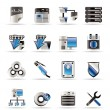 Royalty-Free Stock Vector Image: Server Side Computer icons