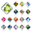 Realistic Icon - Ecology - Set for Web Applications - Stock Vector