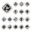 Royalty-Free Stock Vector Image: Simple Ecology icons - Set for Web Applications