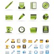 Vector de stock : Office & Business Icons
