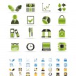 Business and Office icons — Stock Vector