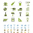 Construction and Building icons - Stock Vector