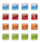 Construction and Building Icon Set — Stock Vector