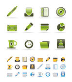 Office & Business Icons — Stock Vector