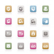 Internet and Website buttons and icons  — Stock Vector