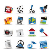 Mobile Phone and Computer icon — Stock Vector