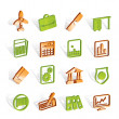Business and Office Icons - Imagen vectorial
