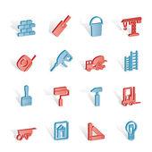 Konstruktion und aufbau der symbole — Stockvektor