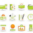 Web Applications,Business and Office icons, Universal icons — Stock Vector
