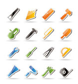 Construction and Building Tools icons — Stockvector