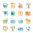 Stock Vector: Online shop icons