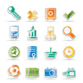 Internet and Web Site Icons — Stock Vector