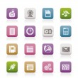 Phone Performance, Business and Office Icons — ベクター素材ストック
