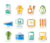 Business and office icons — Cтоковый вектор