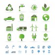 Ecology and environment icons - Image vectorielle