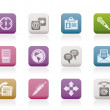 Business, office and internet icons - Imagen vectorial