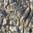 Wall of an antiquity — Foto de Stock