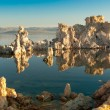 Mono Lake Reflections - Stock Photo