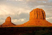 Monument Valley Monoliths — Stock Photo