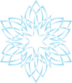Snowflower — Stock Vector
