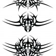 Stock vektor: Abstract tattoo tribal