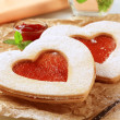 Heart shaped cookies — Stock Photo #3944747