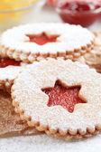 Shortbread cookies — Stock Photo
