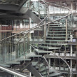 Spiral staircase in a modern building -  