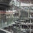 Spiral staircase in a modern building - ストック写真