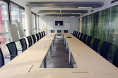 Modern Boardroom — Stock Photo