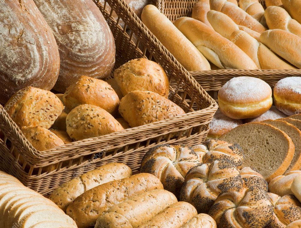 Assortment of bakery goods  Stock Photo #4095177