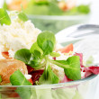 Bowl of fresh salad — Stock Photo