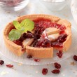 Jelly tart - Stock Photo