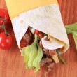 Wrap sandwich — Stock Photo