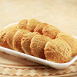 Crispy cookies - Stok fotoraf
