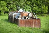 Waste container — Stock Photo