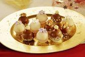 Chocolade truffels — Stockfoto