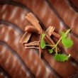Chocolate glaze — Stock Photo