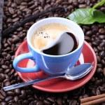 Black coffee — Stock Photo #4288145