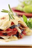 Vegetarian lasagna — Stock Photo