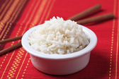 Bowl of rice — Foto Stock