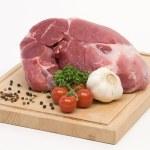 生豚肉 — ストック写真