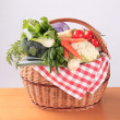 Fresh vegetables in a basket — Stock Photo #4406372
