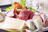 Cold cuts — Stock Photo