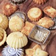 Stock Photo: Tartlet tins and pastry